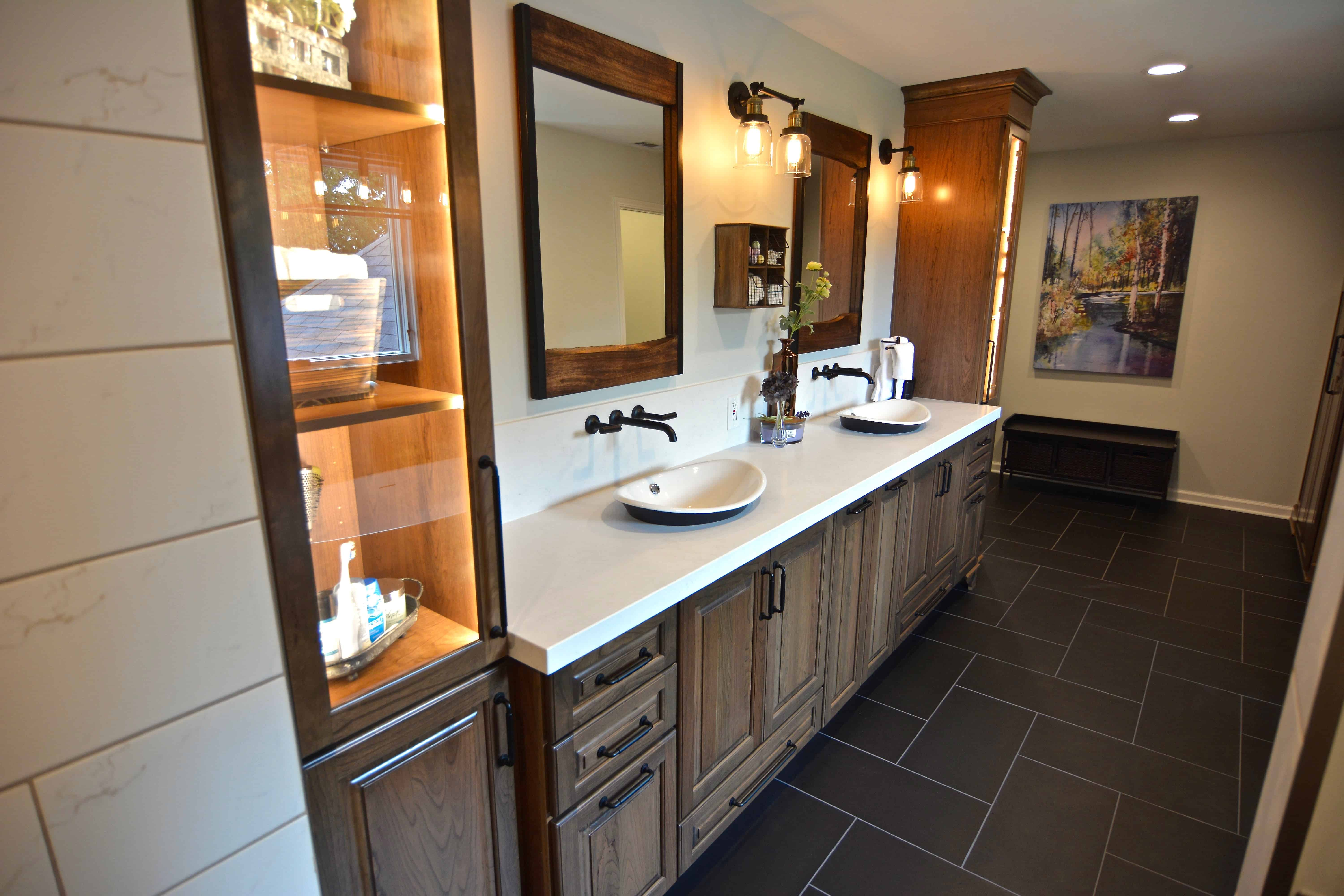 Residential Electrician for Bathroom Lighting